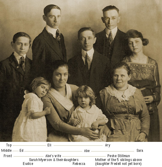 Ary Stillman and his family